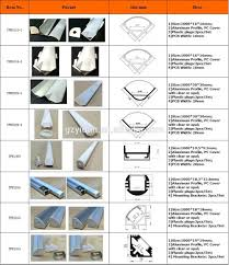 u type aluminum extrusion profile for led strip kitchen cabinet