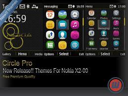 nokia c2 hot themes circle theme for nokia x2 00 asha 206 themes nokia 207 themes
