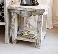 white wood end table gorgeous vintage living room interior design ideas introduces