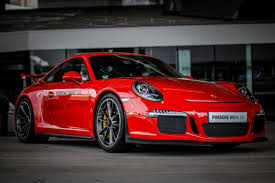 porsche side view red porsche coupe sports car side view red hd wallpaper