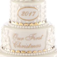 our ornament 2017 wedding cake lenox
