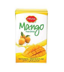 Mango Juice pran mango juice tetra 250ml 3000000005 othoba