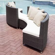 Source Outdoor Circa  Piece Outdoor Sofa Set The Mine - Round outdoor sofa 2