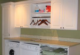 Laundry Room Shelves And Storage Built In Laundry Room Hanging Racks And Shelving Custom Home Storage
