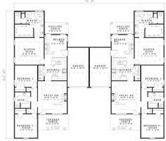 Multi Family Homes Floor Plans Haldimann Multi Family Home Plan 055d 0381 House Plans And More