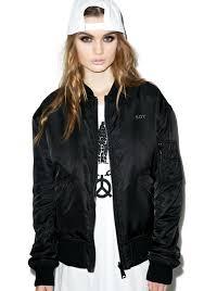 Boys Leather Bomber Jacket Boy London Boy Reversible Ma1 Jacket Dolls Kill