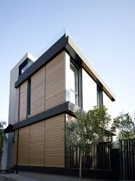 brown and black modern family hosue exterior paint color