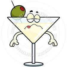 martinis clipart cartoon martini sick by cory thoman toon vectors eps 67501