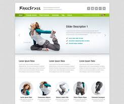 20 Sports Website Templates And Wordpress Themes Themes Templates