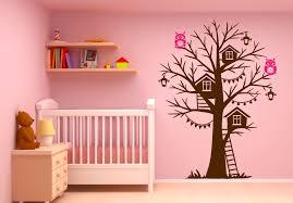 Owl Wall Decals Nursery by Tree House Wall Decal Sticker Vinyl Nursert Art Owls Birdhouse