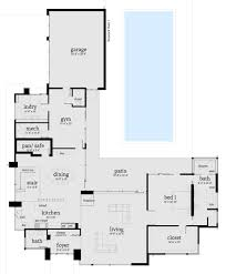 modern style house plan 6 beds 7 00 baths 7318 sq ft plan 64 243
