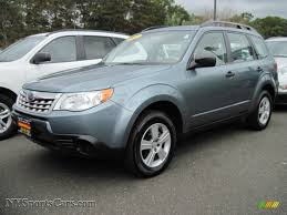 green subaru 2011 subaru forester 2 5 x in sage green metallic 701440