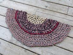 Half Circle Kitchen Rugs Colonial Half Circle Kitchen Rug Crochet 37 Rag By Cedarlanefarm