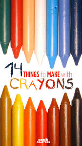 14 things to make with crayons moms and crafters