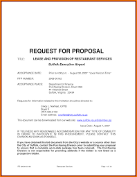 8 catering proposal letter proposal template 2017