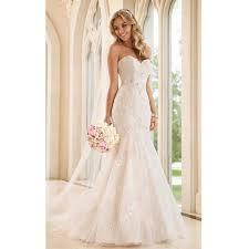 robe de mari e dentelle sirene robe de mariée mariage soirée longue traîne bustier en cœur forme