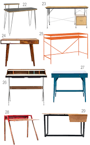 Gus Modern Desk Get The Look 42 Modern Desks For Your Home Office Stylecarrot