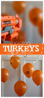 shooting turkeys thanksgiving activities and guns