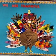 we are thankful turkey bulletin board idea myclassroomideas