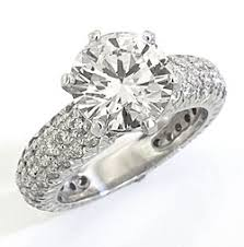 pave engagement rings images Hand made pave diamond engagement ring style 10469 jpg