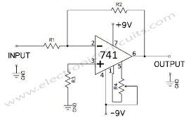 741 operational amplifier electronic circuits part 2