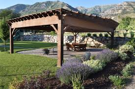 aluminum metal timber frame vinyl or wood pergola kit western