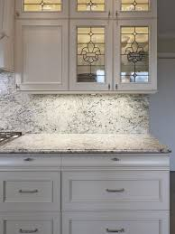 faux stained glass kitchen cabinets classic kitchen with wrought iron detailed on glass cabinet