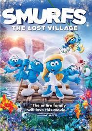 smurfs lost village dvd enhanced widescreen 16x9 tv