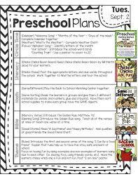the 25 best preschool lesson plan template ideas on pinterest