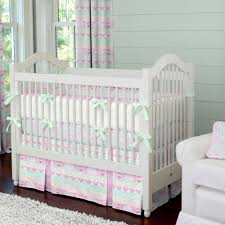 Crib Bedding Sets by Girls Crib Bedding Blush Pink And Coral Crib Bedding Pink