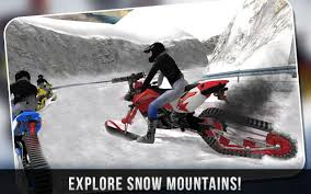 motocross snow bike snow bike rider racing fever android apps on google play