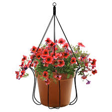 modern hanging planters adjustable plant hanger turns almost any pot into a hanging