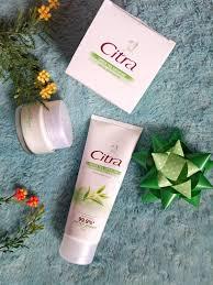 Krim Wajah Citra review citra greentea anti acne foam dan moisturizer