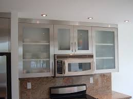 frosted glass backsplash in kitchen awesome frosted glass kitchen cabinets taste