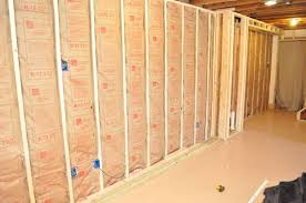 Basement Wall Insulation Options by Finishing A Basement Day 4 Insulation One Project Closer