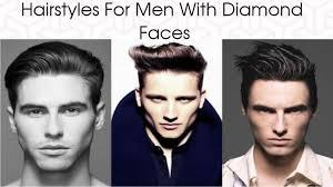 mens medium hairstyles diamond best hairstyles for men with diamond face shape 2018 stylish