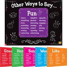 other ways to say 6 in 1 posters set
