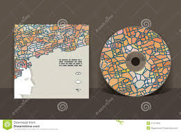 cd cover design template stock vector image of design 51747948
