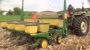 John Deere 7200 Planter by No Till Corn Planting 2014 Yetter Schlagel Keeton Youtube