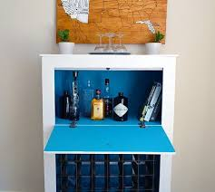 how to build a mid century modern wine u0026 liquor cabinet lovely