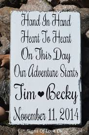 wedding quotes adventure wedding signs personalized gift ideas rustic chic country barn