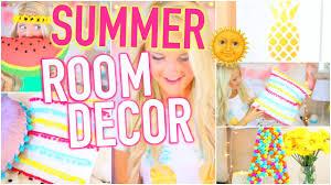 Summer Decor Diy Summer Room Decor Inspired Youtube
