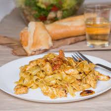 creme fraiche cuisine tagliatelle with pesto chicken and creme fraiche sour