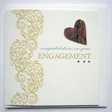 Congratulations On Engagement Card Engagement Card At Rs 10 Piece Anniversary Invitation Card