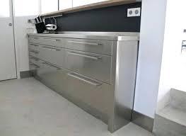 meuble inox cuisine pro meuble cuisine en inox la cuisine inox plinthe meuble cuisine en