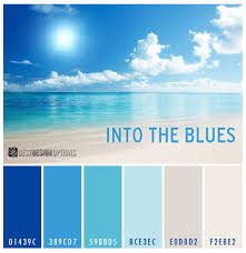 Blue Paint Swatches Cool Color Combinations For Summer 2014 Best Design Options