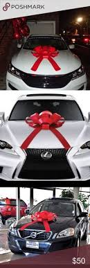car bow ribbon celebrate a new car with a big bow here s how to make one http