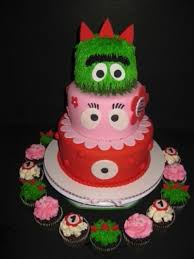 yo gabba gabba birthday cake3d cards 18 best my baby cakes creations 3 images on baby
