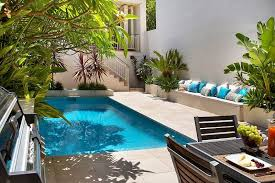 Garden Pool Ideas Small Garden Swimming Pool Ideas 24 Peachy Design Ideas Small