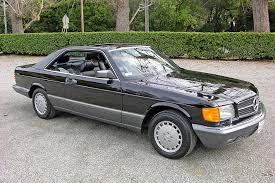 mercedes blk 1991 560sec blk blk 44k mercedesheritage